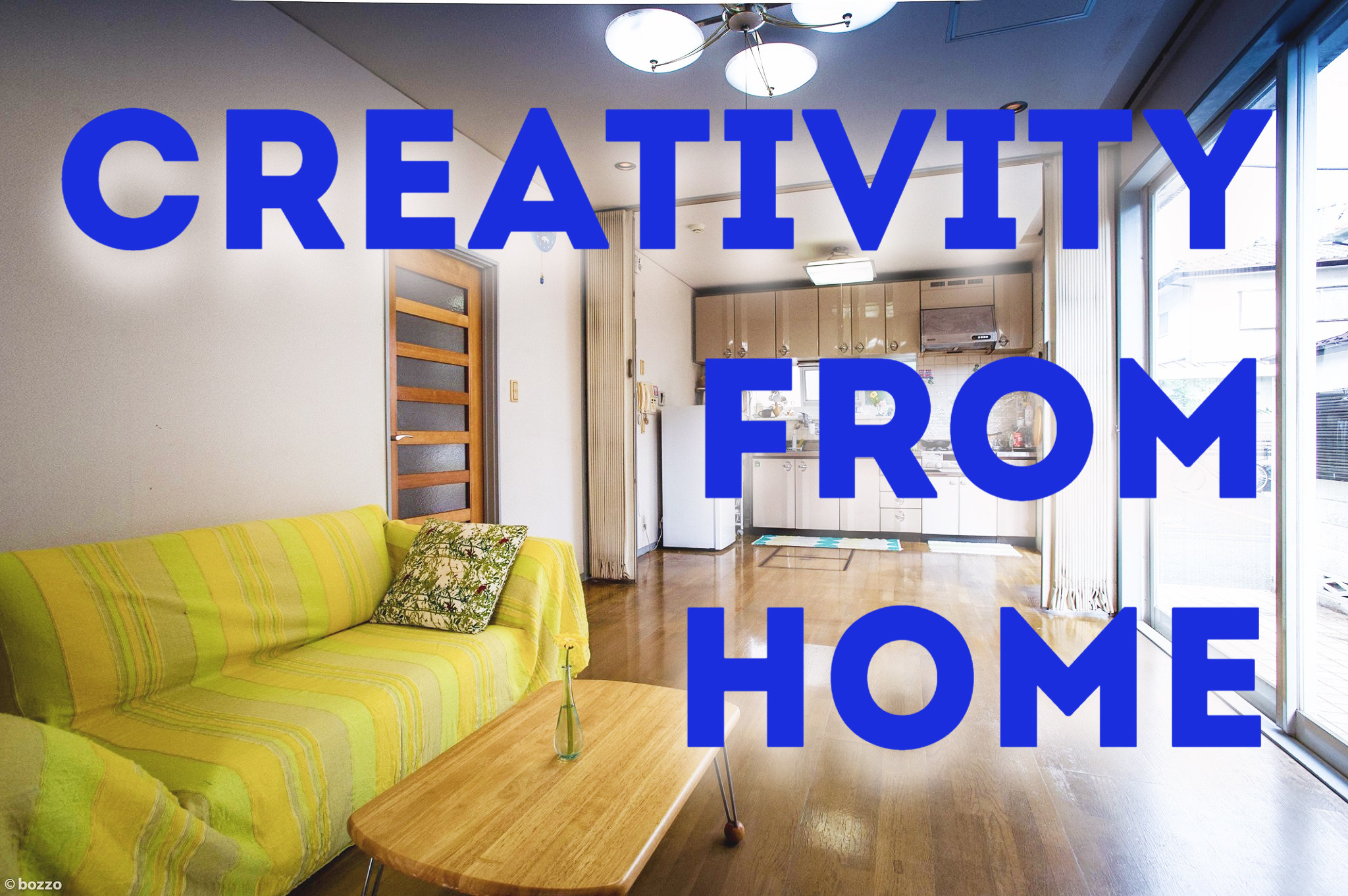 """""""Creativity from HOME"""" : Experimental Remote Residency for Creative Thinkers"""